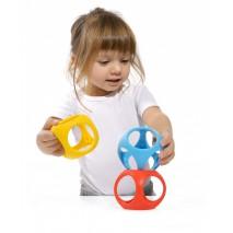 Zabawka kreatywna Oibo 3 pack - kolory podstawowe
