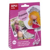 Zestaw artystyczny Apli Kids - Księżniczka