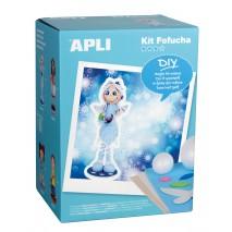 Lalka Fofucha Apli Kids - Zimowa wróżka