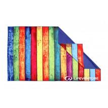 Ręcznik szybkoschnący SoftFibre Lifeventure - Striped Planks 150x90 cm