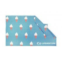 Ręcznik szybkoschnący SoftFibre Lifeventure - Ice Cream 150x90 cm