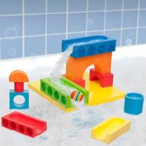 Zabawka do kąpieli BathBlocks - Wodny kulodrom 15 el.