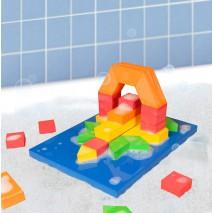 Zabawka do kąpieli BathBlocks - Zestaw klocków 40 el.