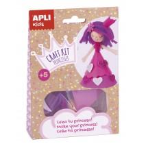 Zestaw artystyczny Apli Kids - Różowa Księżniczka