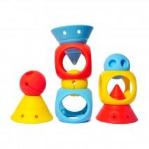 Zestaw zabawek kreatywnych Moluk Building Genius - 9 el.