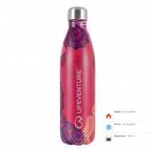 Butelka termiczna Lifeventure - Mandala 750 ml