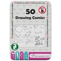 Podróżne łamigłówki The Purple Cow - 50 Rysowanie komiksów