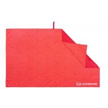 Ręcznik szybkoschnący SoftFibre Recycled Lifeventure - Coral 150x90 cm