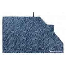 Ręcznik szybkoschnący SoftFibre Recycled Lifeventure - Navy 150x90 cm
