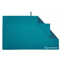 Ręcznik szybkoschnący SoftFibre Recycled Lifeventure - Teal 150x90 cm