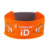 Neoprenowa opaska informacyjna ID LittleLife - Rybka Nemo