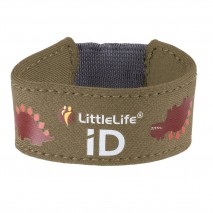 Neoprenowa opaska informacyjna ID LittleLife - Dinozaur