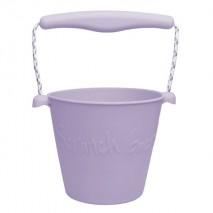 Składane wiaderko do wody i piasku Scrunch Bucket - Lila