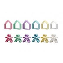 DENA 6 x Kid + 6 x House PASTEL