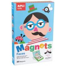 Magnetyczna układanka Apli Kids - Twarze