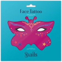Naklejki na twarz Face Tattoo Snails - Fairy Dust