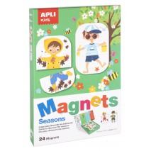 Magnetyczna układanka Apli Kids - Pory roku