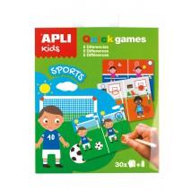 Gra podróżna Apli Kids - Znajdź różnice Sport