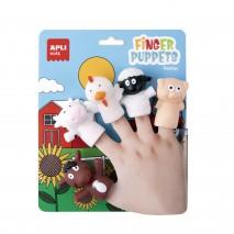 Pacynki na palce Apli Kids - Farma