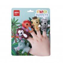 Pacynki na palce Apli Kids - Dżungla