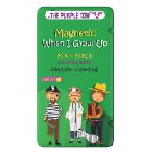Gra magnetyczna The Purple Cow - Układanka Zawody