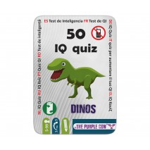 Podróżne łamigłówki The Purple Cow - 50 IQ Dinozaury