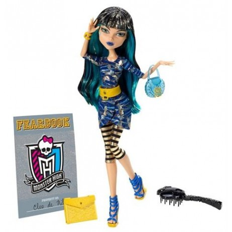 Monster High - Upiorni Uczniowie Cleo de Nile