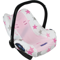 Pokrowiec do fotelika Dooky Seat Cover Pink Stars