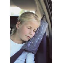 Poduszka na pas bezpieczeństwa Dooky - Grey Stars