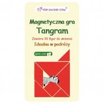 Gra magnetyczna The Purple Cow - Tangram