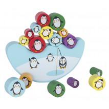 Gra zręcznościowa Apli Kids - Balansujące pingwiny