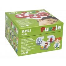 Puzzle dla dzieci Apli Kids - Zawody 3+