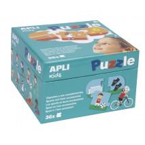 Puzzle dla dzieci Apli Kids - Sporty 3+