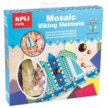 Zestaw artystyczny Apli Kids mozaika - Hełm Wikinga